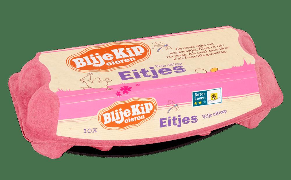 Blije Kip eieren Eitjes | Vrije uitloop eieren