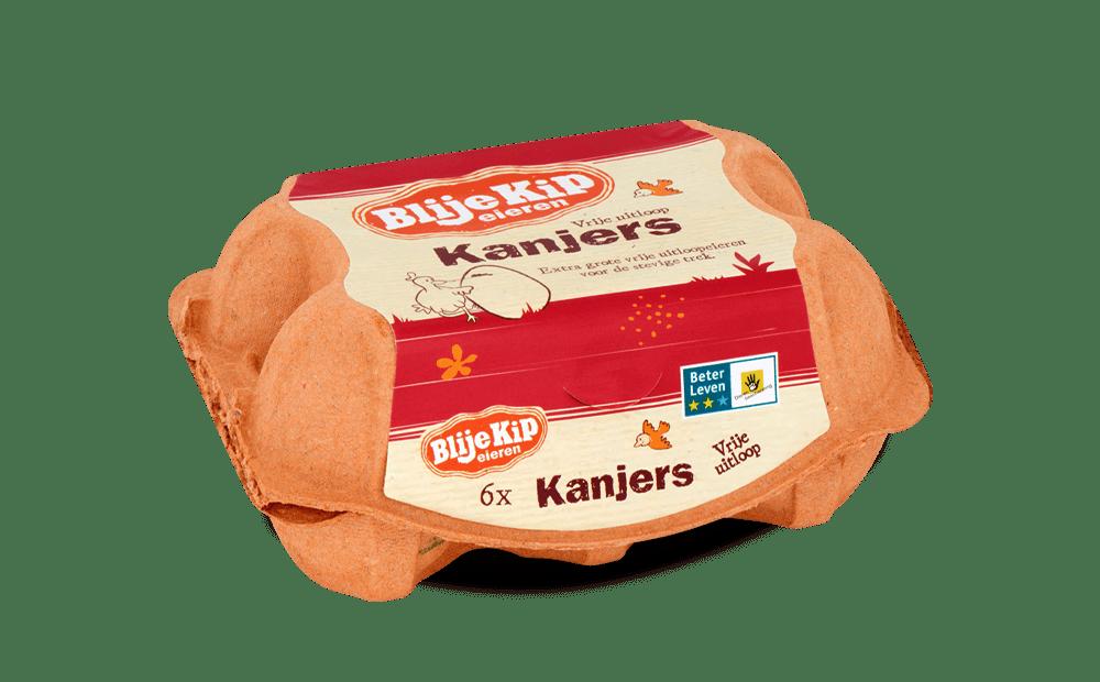 Blije Kip eieren Kanjers | Vrije uitloop eieren