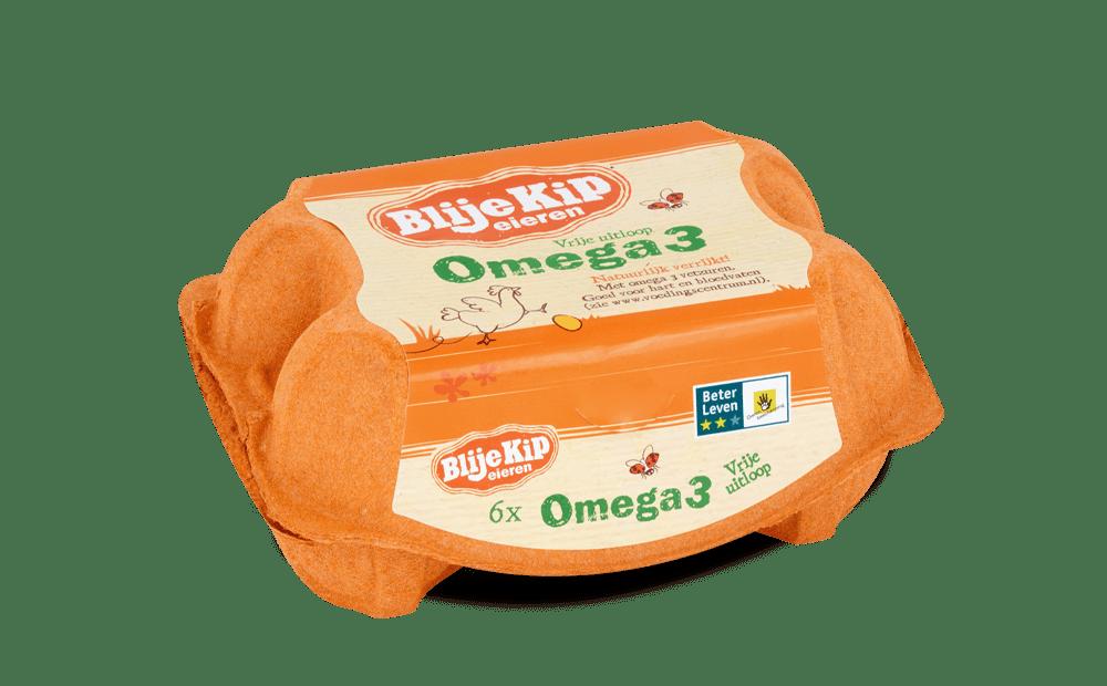 Blije Kip eieren Omega 3 | Omega 3 eieren | Vrije uitloop eieren