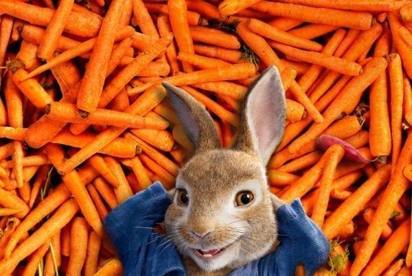 Blije-kip-pieter-konijnPieter Konijn filmprijzen winnen