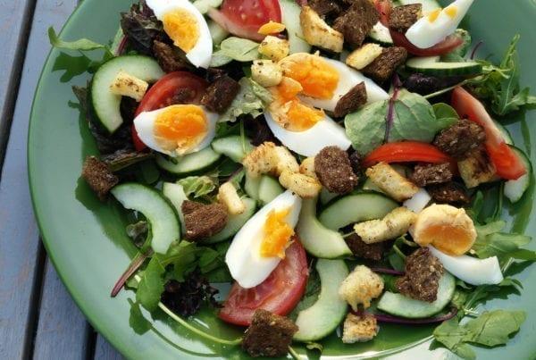 Mixed Salad - Salade met Ei